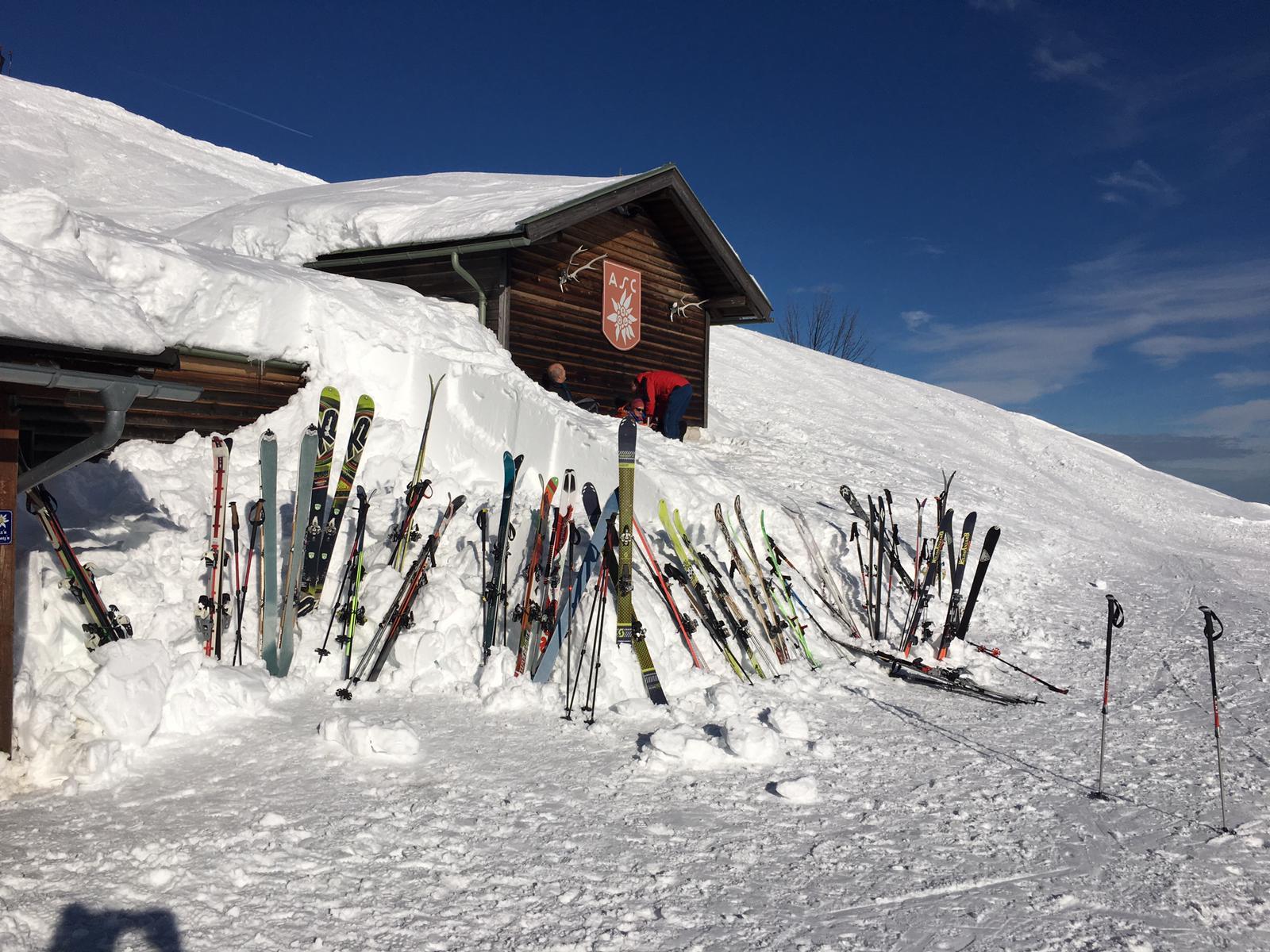"""Das schrieb uns per Mail der Michael aus München – """"Eine leichte Skitour aufs Brauneck bei Lenggries."""""""