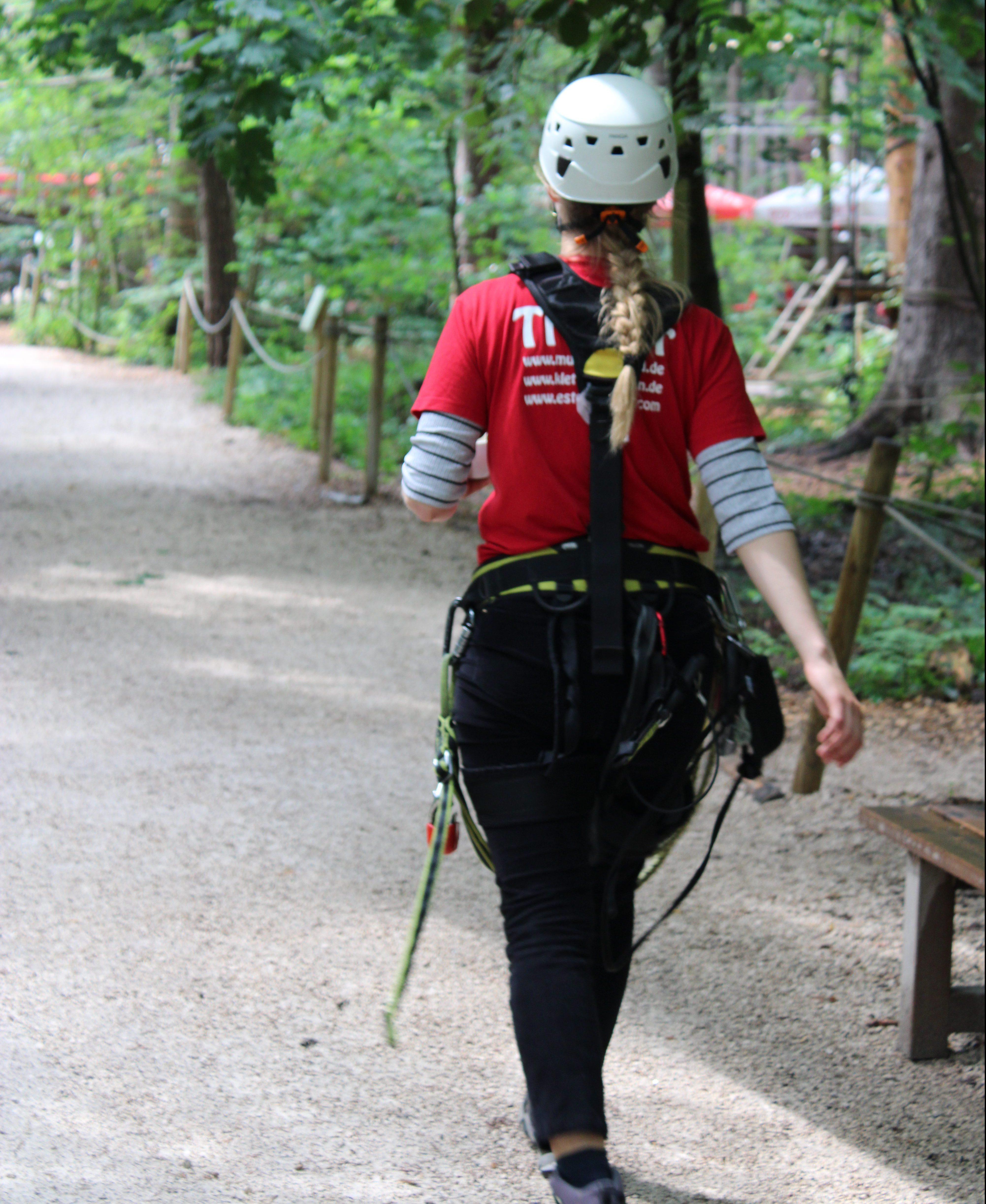sportshoutler machen Vaterstettener Kletterwald unsicher