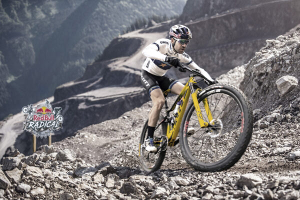 Wade Young performs during prologue of Red Bull Hare Scramble 2016 in Eisenerz, Austria on May 28, 2016 // Yana Stancheva / Red Bull Content Pool // AP-1NF5R8KBS2111 // Usage for editorial use only //