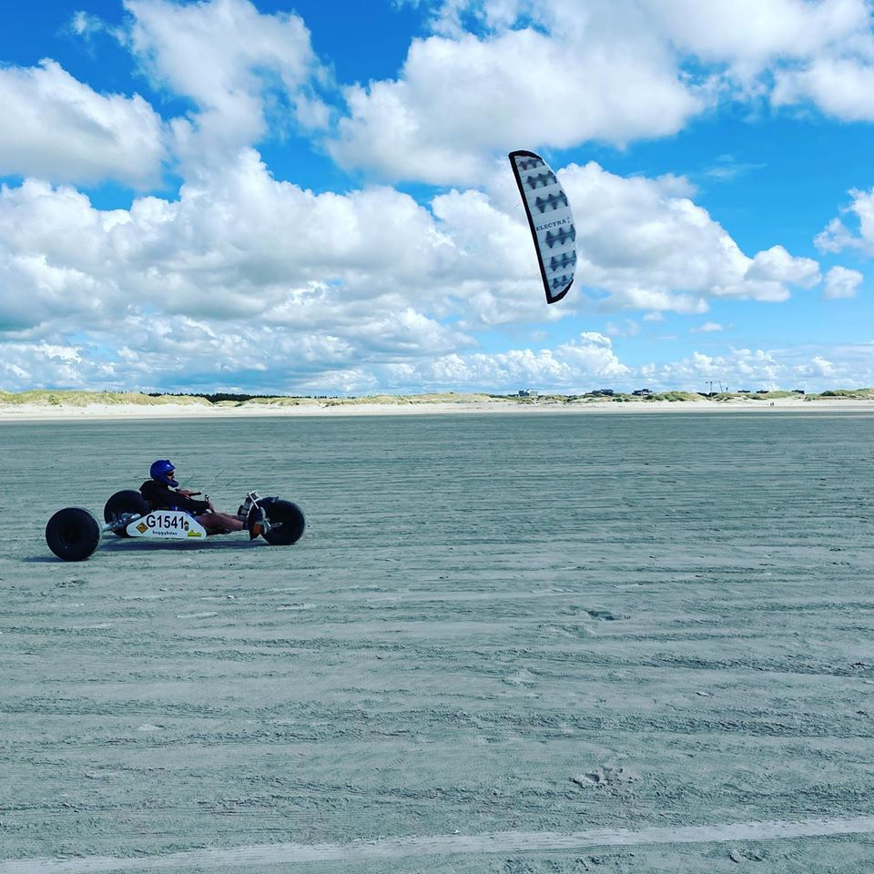 Freestyle-Buggyfahren in St. Peter Ording