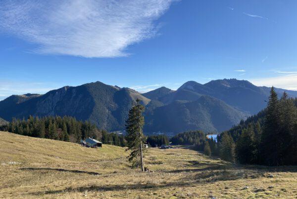 Wunderschöne Aussichten über die Schlierseer und Tegernseer Region.