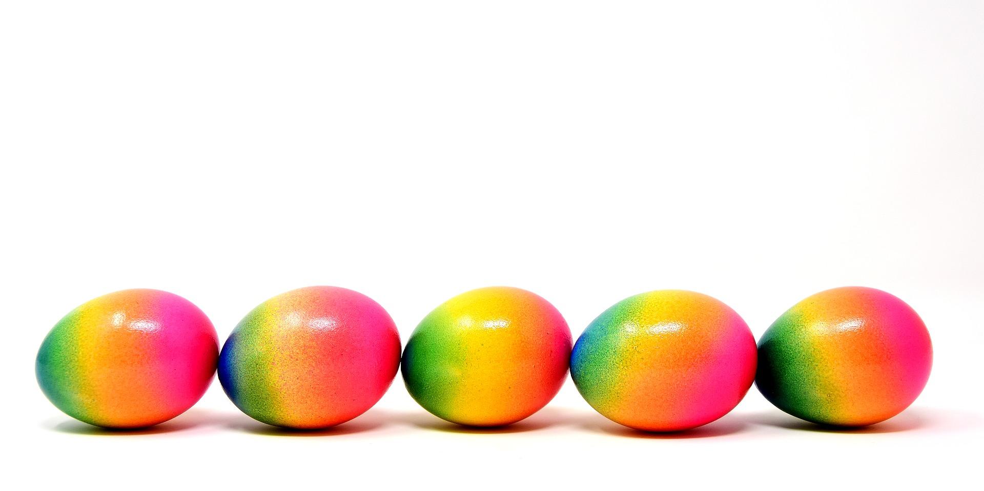 Frohe sportliche Ostern von uns allen!